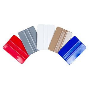 Espátula em PVC para aplicação de adesivo - cores