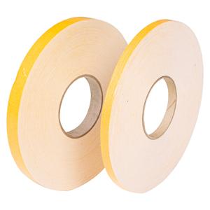 Fita dupla-face espumada com liner amarelo - Larguras variadas