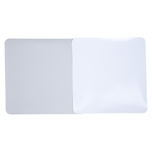 Lona para impressão digital Unifront branca brilho avesso cinza - larguras variadas