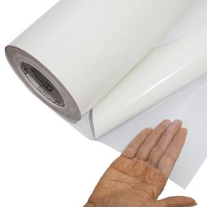 Vinil Adesivo para impressão DIGIMAX transparente BRILHO 0.10 Larg. variadas