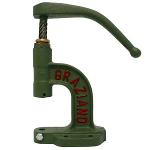 Máquina para fechar ilhós/ botão (06) alavanca giratória