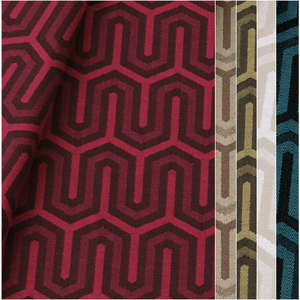 Tecido jacquard para almofada - Impermeável - 12 cores - Coleção Panamá