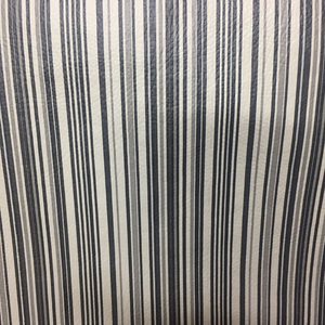 Tecido corano listrado- preto Larg 1,40 x 1,00 m